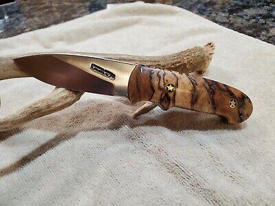 Randall Knife, custom Triathlete with Spalted Birchwood scales