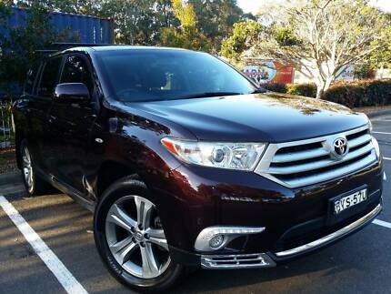 SUV 2011 Toyota Kluger In excellent condition Roselands Canterbury Area Preview