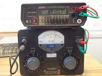 General Radio 546-c Audio-frequency Microvolterattenuatorvoltage Divider