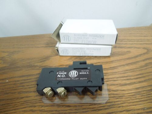 Ite F10nor Normally Open Auxiliary Contact New Surplus (set Of 2)