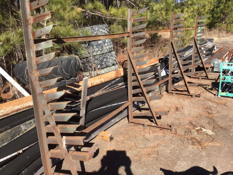 Used Cantilever Steel Stock Rack