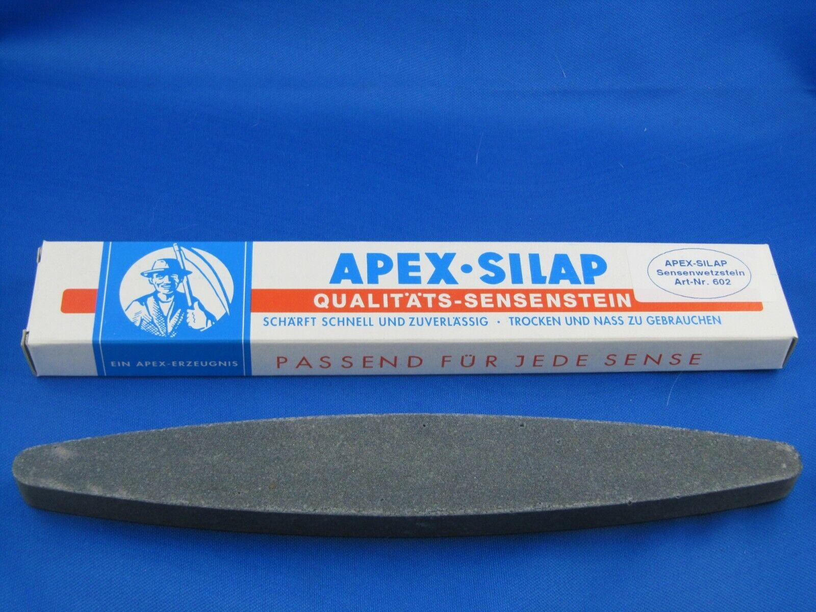 Sensenwetzstein APEX-Silap  230 mm für Sensen / Sicheln und Messer