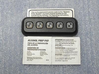 Ford Mustang F150 F250 F350 Explorer Wireless Keyless Entry Pad New OEM Part