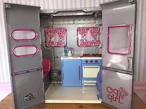 "18"" American Girl Doll Camper + Jeep"