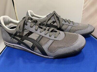 NEW Asics Onitsuka Tiger Ultimate 81 mens Sz 14 shoe HN201 charcoal gray Sneaker