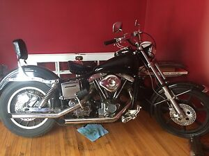1977 Fxs harley trade for jeep