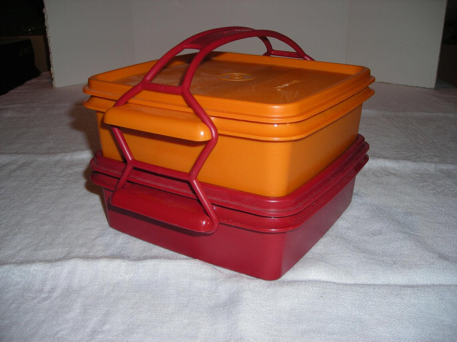 Tupperware 5-pc Quartet Containers Set -Lunch/Picnic #1362/1