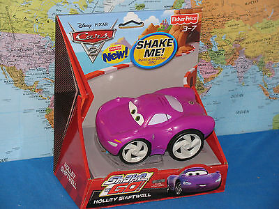 DISNEY PIXAR CARS 2  FISHER PRICE HOLLEY SHIFTWELL SHAKE N GO *BRAND NEW & RARE*
