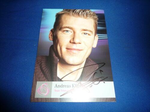 ANDREAS KLIER signed Autogramm 10x15 cm RADSPORT