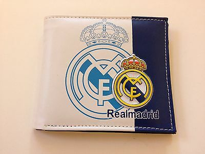Real Madrid Football 2017 Wallet Leather Cristiano Ronaldo Bale Zidane   New
