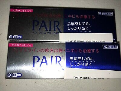 2 pcs. Lion Pair Acne Medicated cream W 24g each from Japan