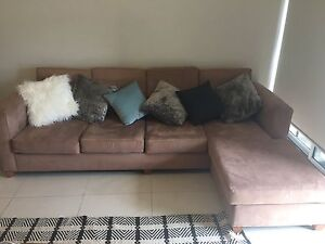 4 seater lounge with chaise Five Dock Canada Bay Area Preview