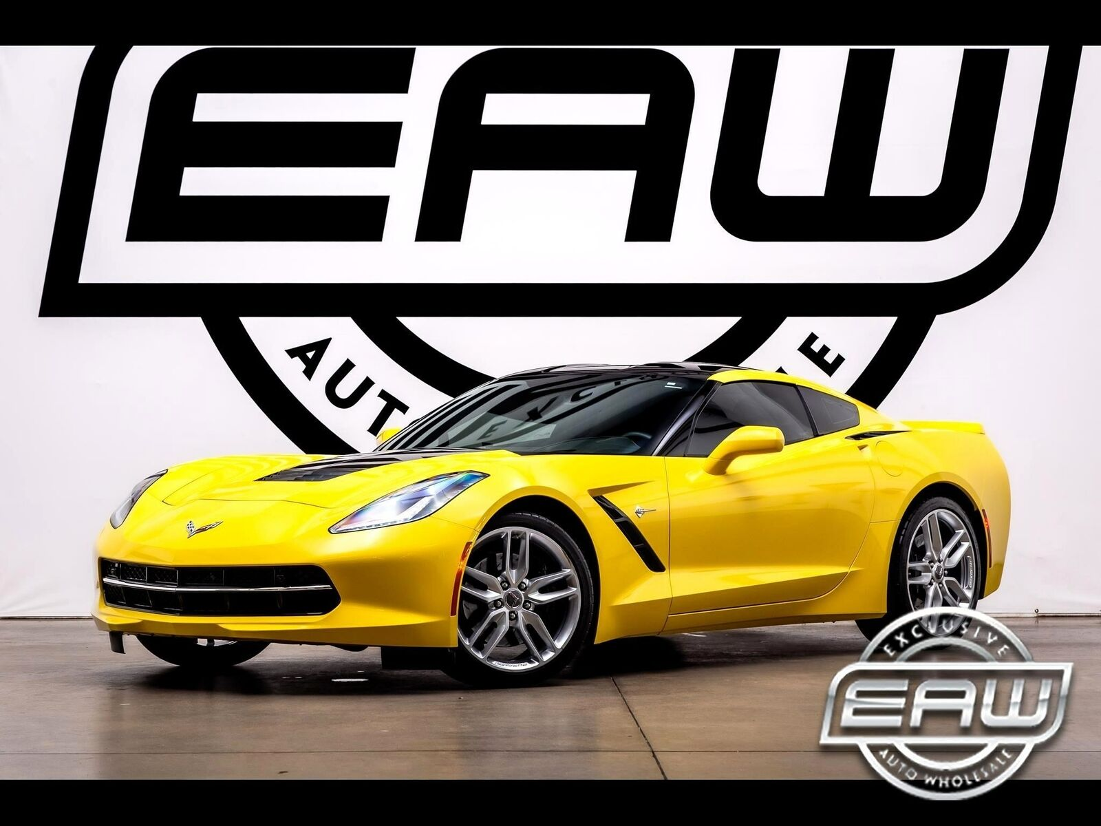2016 Yellow Chevrolet Corvette Stingray 2LT | C7 Corvette Photo 1