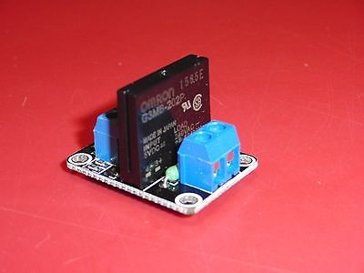 5v 1 Channel Omron Ssr G3mb-202p Solid State Relay Module W Resistive Fuse