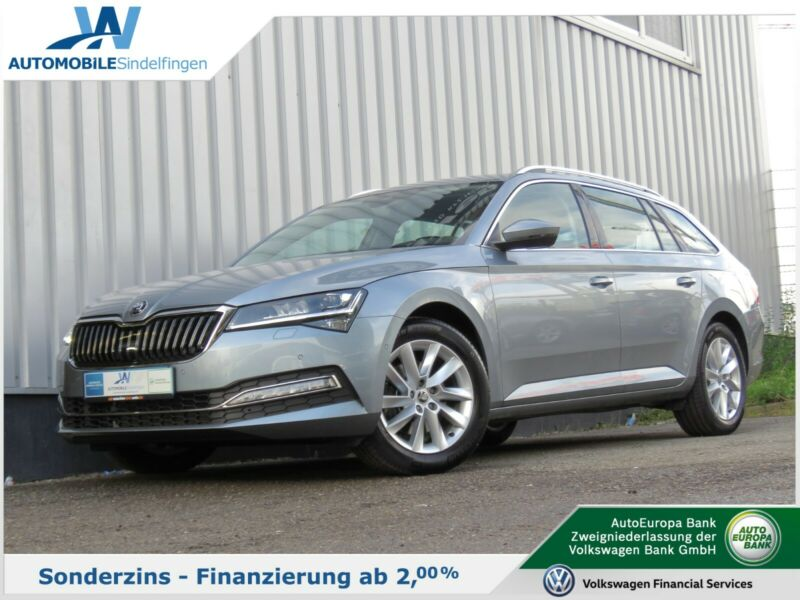 Skoda Superb Combi 2.0TDI DSG LEDER NAVI LED-Matrix