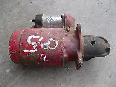 Farmall 560 460 Tractor Ih Ihc 12v Good Working Starter Assembly Bad Sylnoid