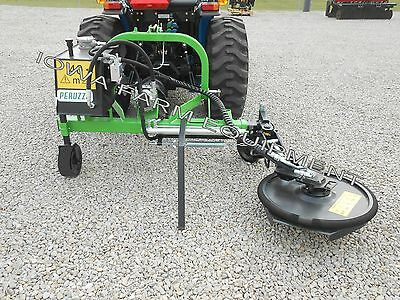 """Fence Row Trimmer/Mower,Tree Row Trimming, Peruzzo Side Cutter: TELESCOPES 24""""!"""