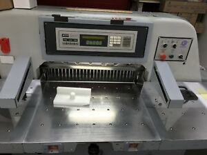 """30.5""""  Gergek all programable, automatic, Air Cutter  for sale"""