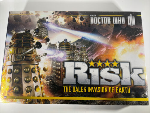 Hasbro Risk Dr. Who - The Dalek Invasion Of Earth, MIB, Still Sealed - $45.00