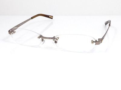 100% Authentic Gucci Glasses Eyeglasses Eyewear Brown 51/17 136 Japan B1859