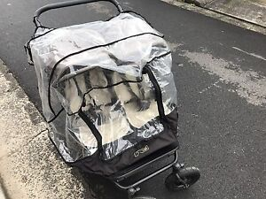 Mountain buggy duet, twin pram, bag and wet cover Bondi Junction Eastern Suburbs Preview