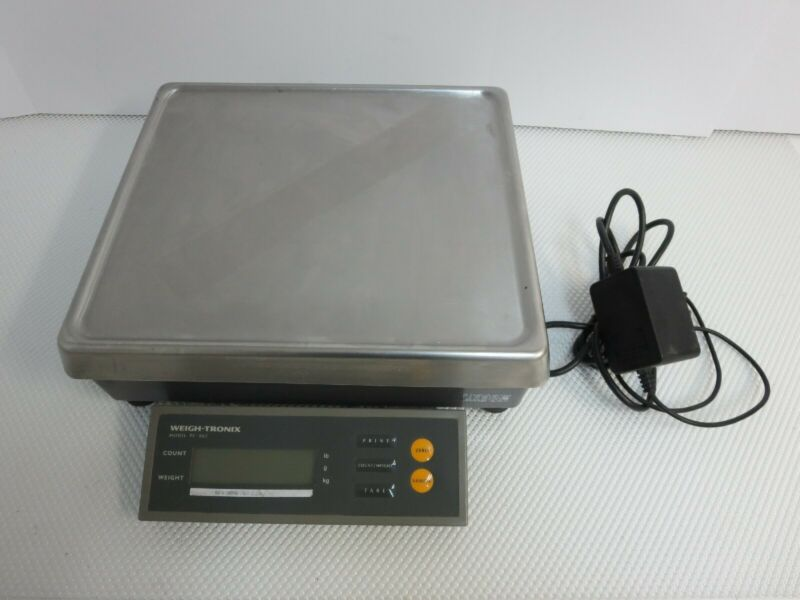 Avery Weigh-tronix PC802B PC-802B-25 50lb Digital Precision Counting Scale