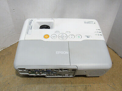 Epson PowerLite 93+ 3LCD XGA Projector 2600 Lumens 2889 Lamp Hours w/ No Remote