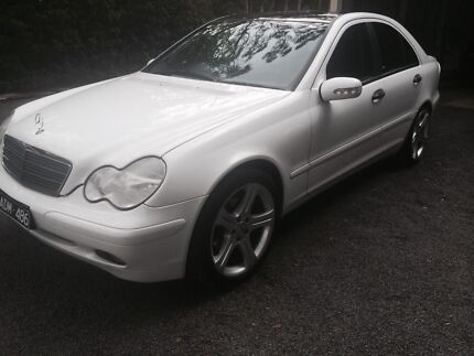 2001 Mercedes-Benz c180 6 speed manual a1 condition Gordon Moorabool Area Preview