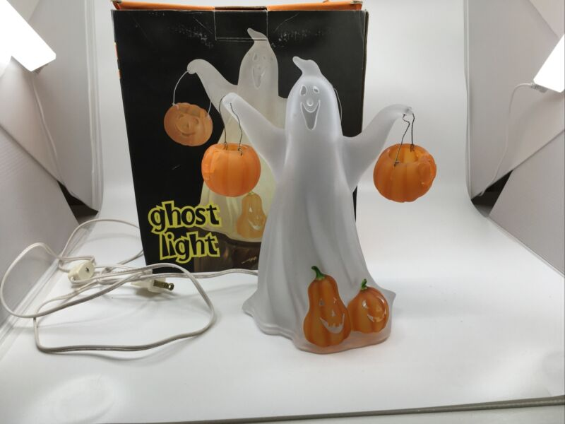 Jc Penney Home Collection Light Up Acrylic Ghost Halloween Light
