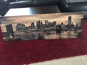 Canvas picture Merrimac Gold Coast City Preview