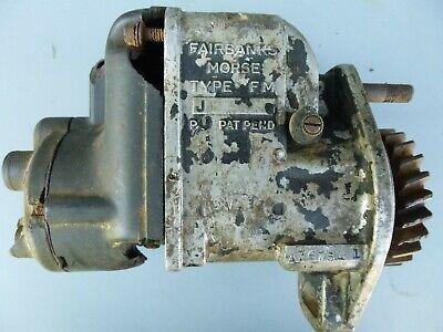 Antique Fairbanks Morse 4cyl. Magneto For Parts Has Broken Parts Rusty Gear Poor