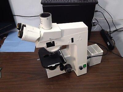 Carl Zeiss Axioskop El-einsatz Laboratory Microscope 45 14 85 As Is