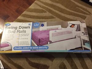 Regalo Double swing down bed rails for both sides brand new