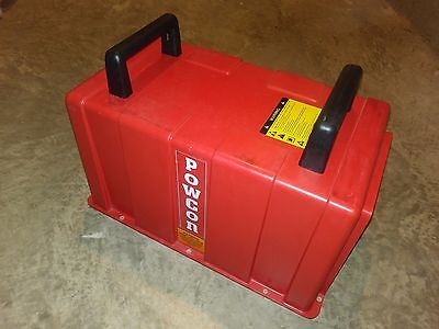 Powcon 250018-001 Case Top With Handles And Labels
