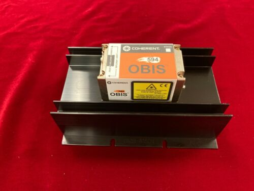Coherent OBIS 594-100 LS OPSL Laser Complete System! Tested with 12 hours use