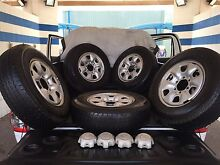5 x Genuine Toyota Hilux 205/16's tyres and rims Nightcliff Darwin City Preview