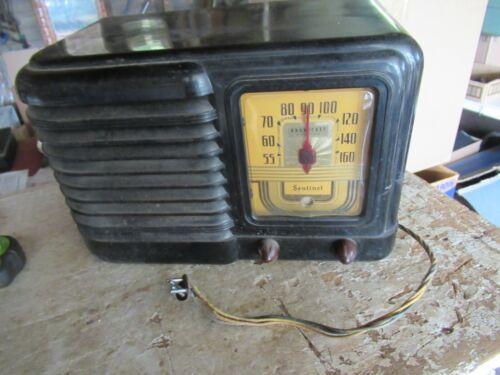 Vintage Sentinel Tube Radio Bakelite #275 Needs Restoration Lot 21-51-20