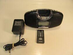 Jensen Alarm Clock Docking Digital Music System for Ipod With Remote