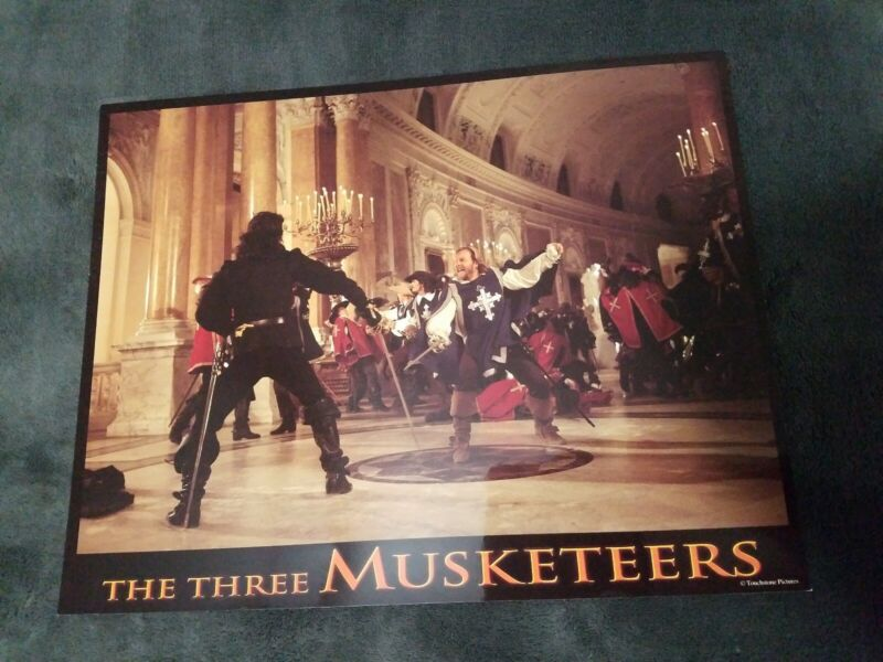 The Three Musketeers lobby cards - Kiefer Sutherland  - Set of 8