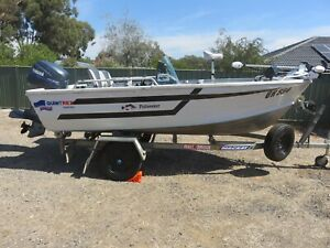 Quintrex Fishseeker Boat with Yamaha 40hp Four Stroke Outboard