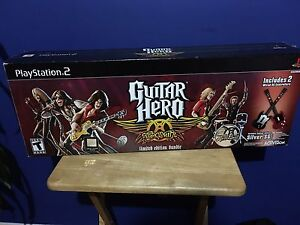 Guitar Hero for PS 2 - Complete