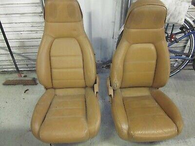 Pair of Mazda MX5 Tan Leather Seats  x2