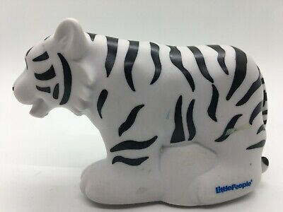 Fisher Price Little People Zoo Talkers White Tiger Interactive FPLP Free Ship