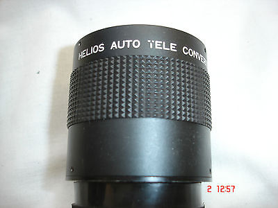 HELIOS 3X Auto Teleconverter, M42 Screw Fit