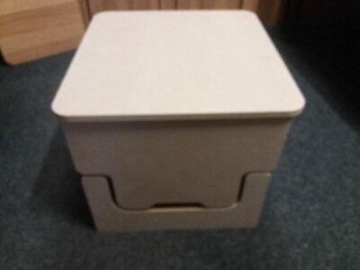 Camper Buddy Toilet Storage Box Seat Thetford Cube 145 345 Porta Potti Motorhome