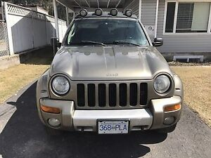 Sold pending pickup 2002 Jeep Liberty Renegade