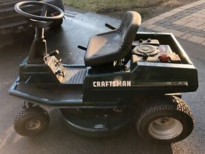 10HP Rear Engine Craftsman Riding Mower Lawn Tractor