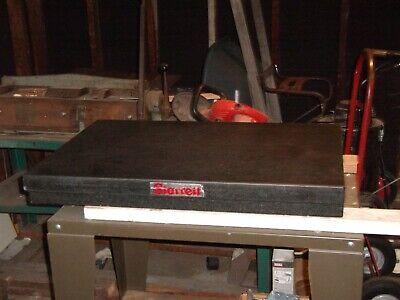Starrett Lab Granite Flat Surface 24 X 36 X 4 With Cart