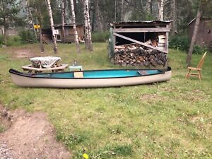 15 foot fibreglass canoe