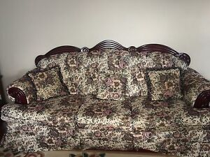 Flower Printed Couches